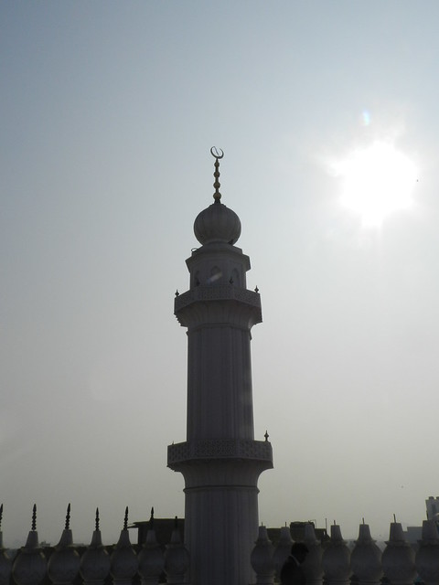 Minaret of Jama Masjid of Moradabad