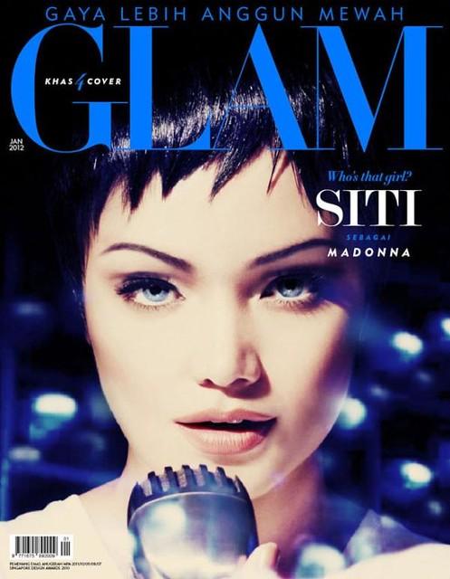 Siti Nurhaliza As Madonna