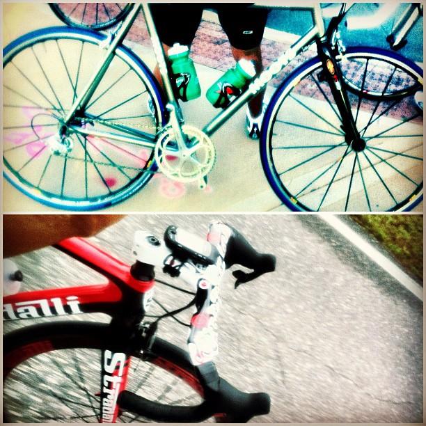 Sweet bike sightings. #rapha500