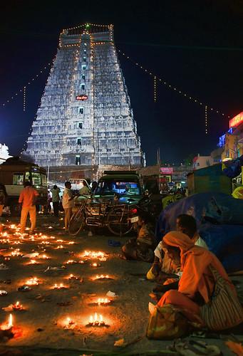 Tiruvannamalai - Deepam (festa de la llum) 3