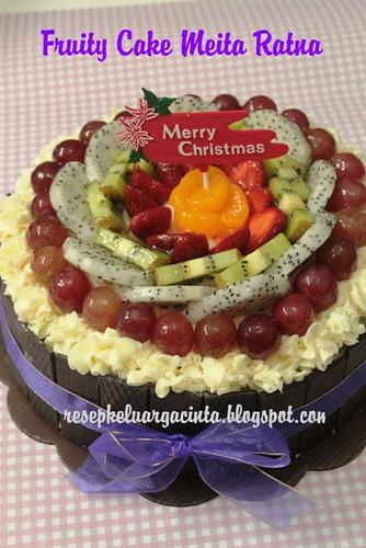 Fruity Cake Meita Ratna