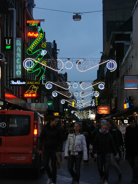 Amsterdam Xmas Lights
