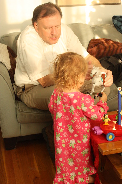Cordelia and Grandpa Mike