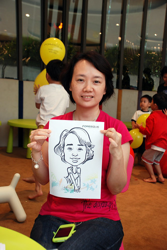 caricature live sketching for Forestque Residence (Wing Tai) - Day 1 - 19