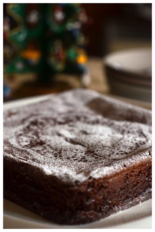 dark chocolate and prune cake© by Haalo