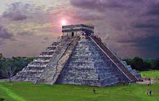 Chichen Itza Aztec Temple