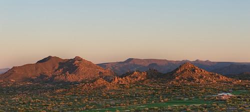 scottsdale arizona unitedstates usa az mountain golfcourse lonemountain sunrise hdr photomatix topaz photoshop aperture cactus green shadows december 2011 landscape nikon d700 2470mm f8