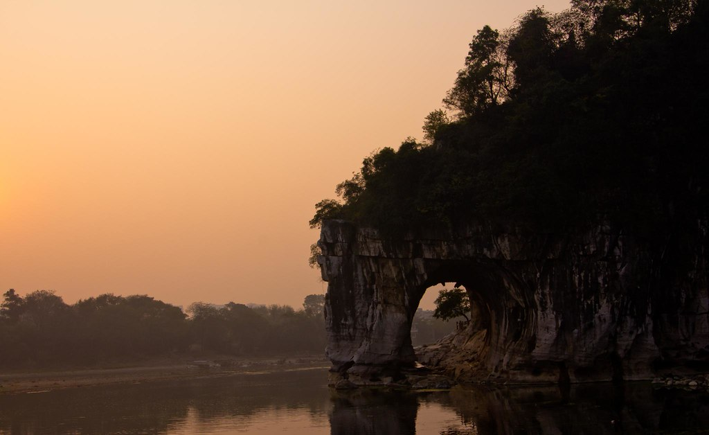 Elephant Trunk Hill on the morning