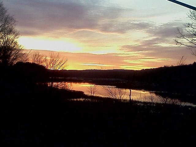 2011 12 27 sunrise over the mighty quabog