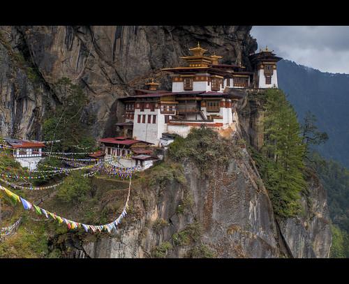 """Bhutan - Taktsang Monastery  """"Tiger´s nest"""""""