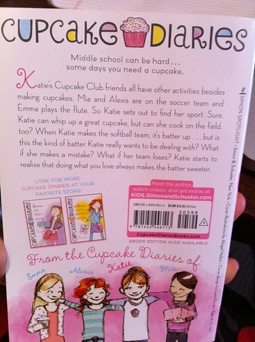 Cupcake Book Review Katie Batter Up By Coco Simon The