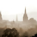 UK - Oxford - Panorama From South Park 4 by Darrell Godliman