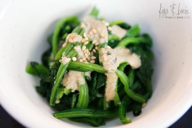 Spinach Salad, Menya Oiden