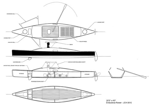 Row Cruiser Design