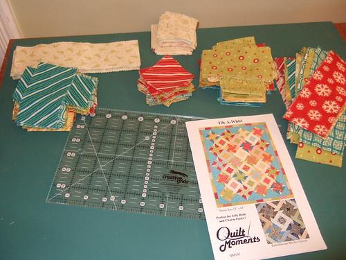 Tilt-A-Whirl quilt