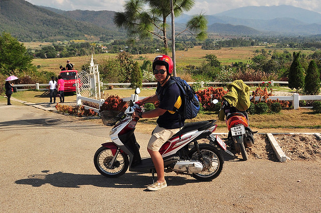 Exploring Northern Thailand on a Motorbike