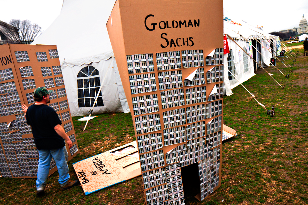 Goldman Sachs on Washington Mall