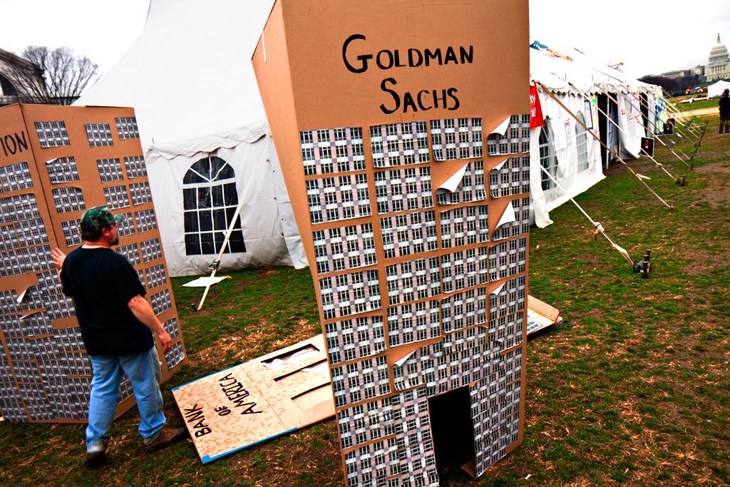 Goldman Sachs on Washington Mall
