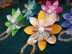 Paper Flowers 3 Photos | Kusudama Flowers | 121