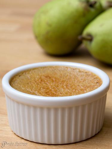 Pear Custard