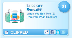 Renuzit Pearl Scents Coupon