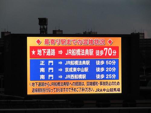 Nakayama Racecourse 中山競馬場