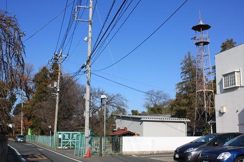 大谷本郷の火の見櫓(上尾市)