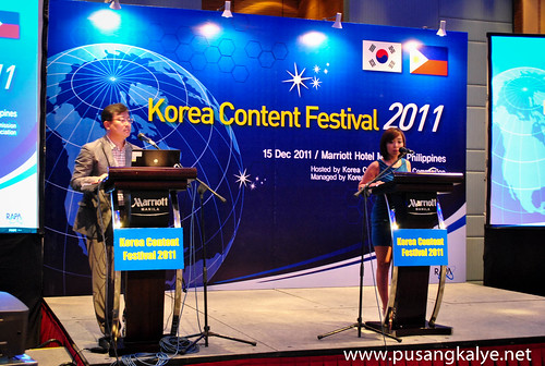KOREA CONTENT FESTIVAL 2011_Manila
