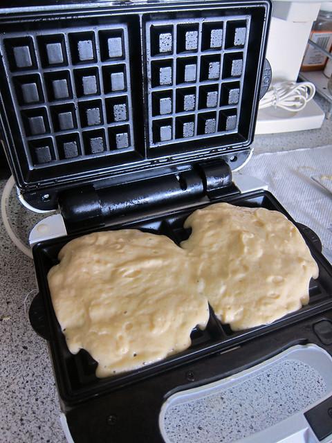 waffle batter