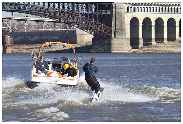 New Year's Day - Water Skiing In The Mississippi 4