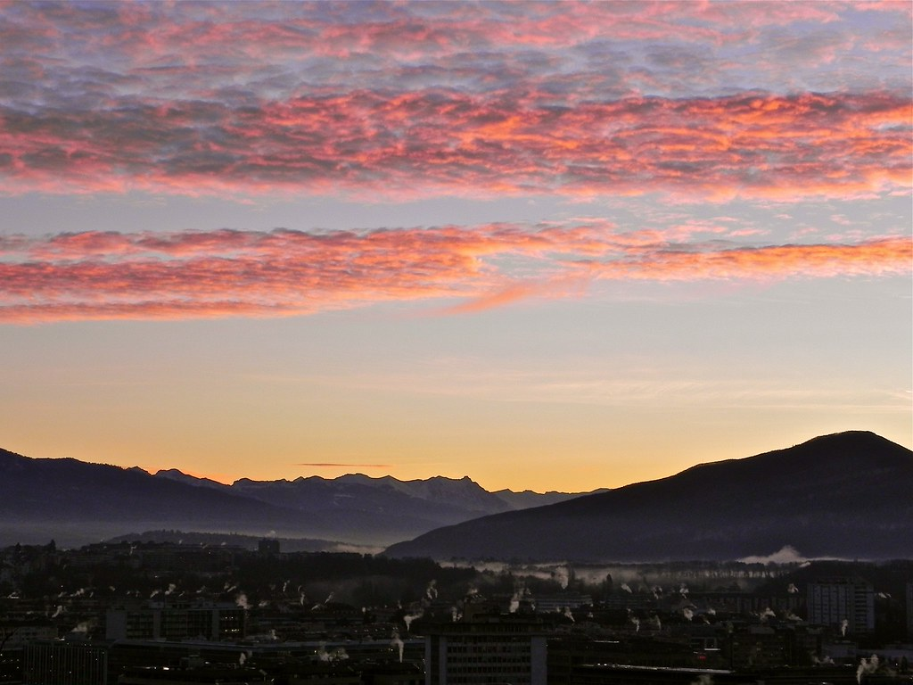 View from Geneva This Morning