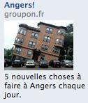 Se demande si la pub Groupon qui tourne en ce moment sur Facebook ne serait pas annonciatrice de leur futur... by Charles Nouÿrit
