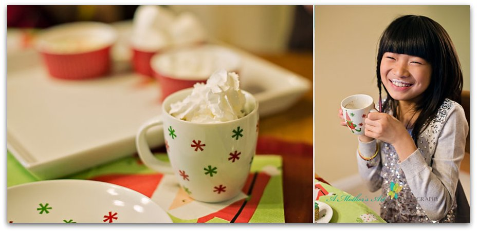 Hot chocolate Diptych