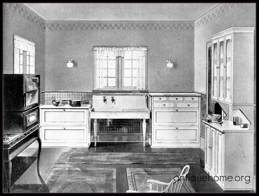 1920 S Modern Kitchen Twenties Bungalow Kitchen Www