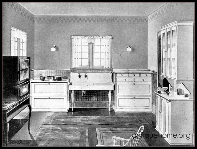1920's Modern Kitchen