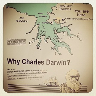 Why Charles Darwin? Because SCIENCE!!1