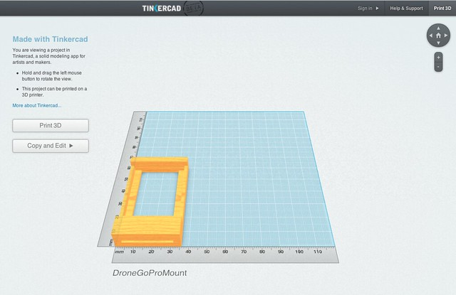 Tinkercad Flickr Photo Sharing