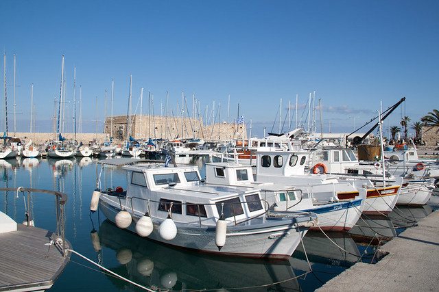 Venetian Harbour Iraklion