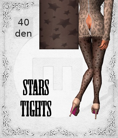 Stars Tights by Mikee Mokeev