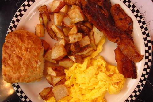 Silver Diner Breakfast
