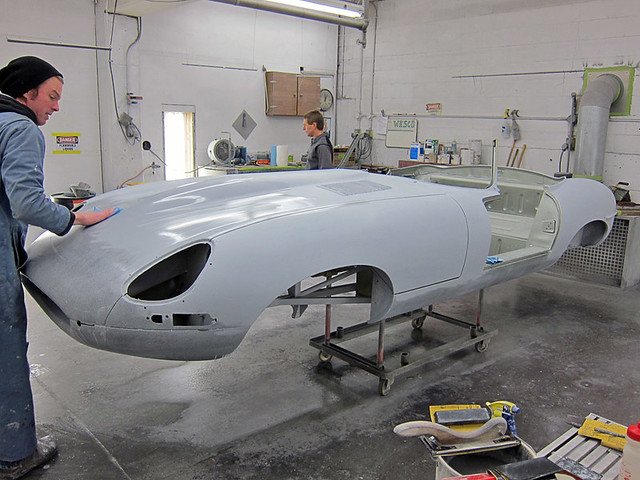 E-Type Paint Prep – RUSTY HEAPS