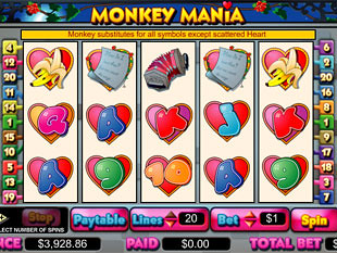 Monkey Mania slot game online review