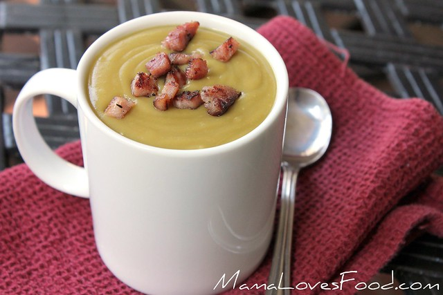 Slow Cooker Split Pea Soup
