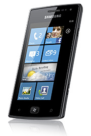 The Omnia W uses Microsoft Windows Phone 7.5 Mango