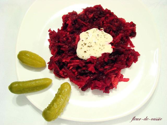 салат из свеклы с яблоком по-фински 1