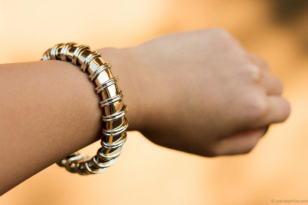 Celeste Silver Roped Bracelet 1