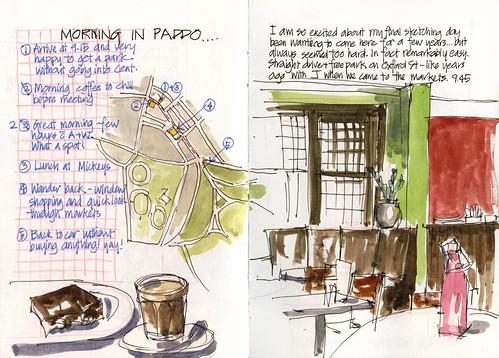 Summer! J07SA_02 Paddo morning coffee and Map