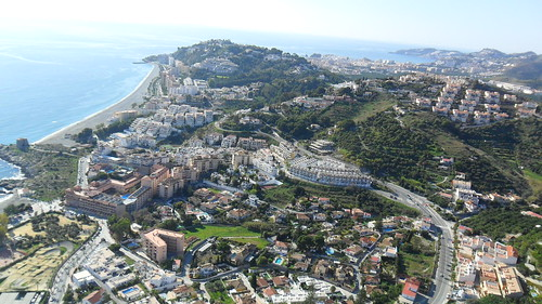 Almuñecar aerial view
