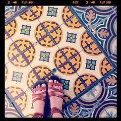 Shoe shot, Colonia, Uruguay