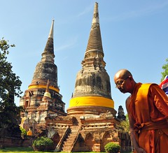 Monk and Chedi